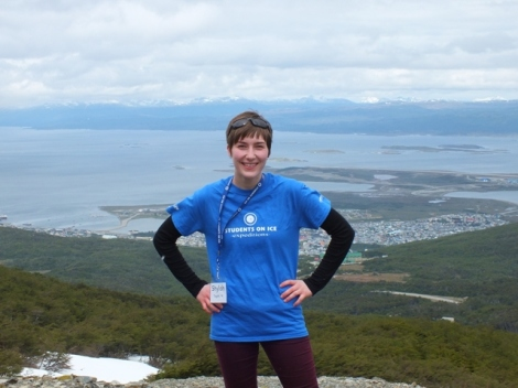 Me with Ushuaia in the Background