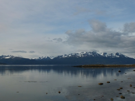 The Beagle Channel, and Chili on the other side