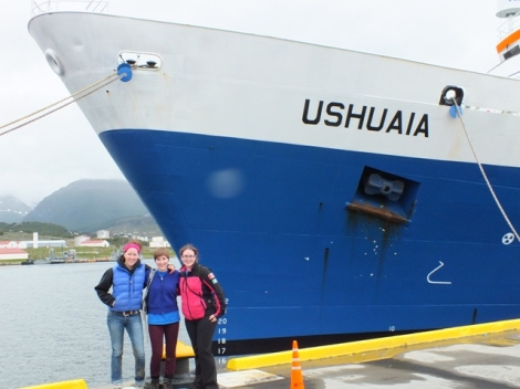 We Three Yukon Girls With The Ushuaia