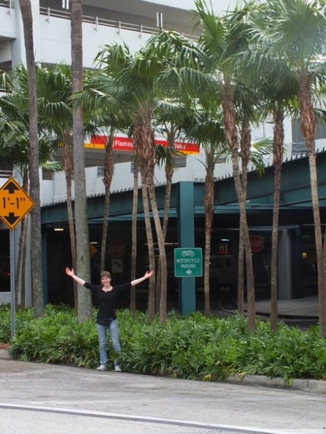 Me with Palm Trees!