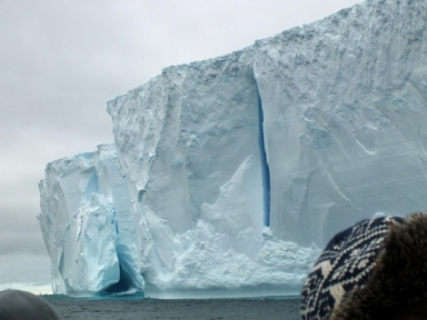 The Tabular Iceberg Up Close