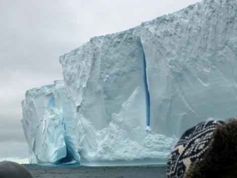 The Tabular Iceberg Up Close