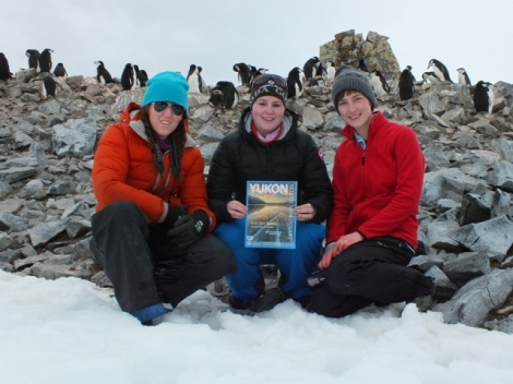 We Three Yukon Girls Bringing Home to Antarctica!