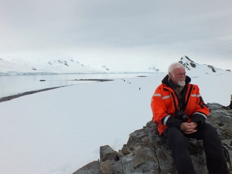 Olle, One of Our Expedition Leaders and Polar Historian