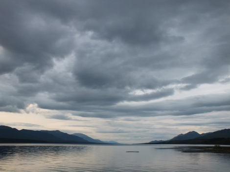 Teslin Lake - View from the Bird Observatory.